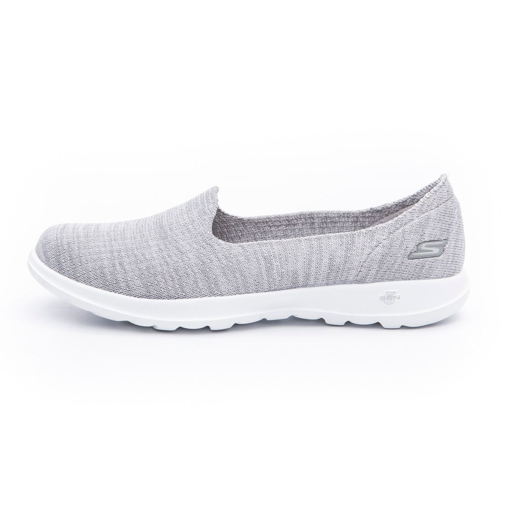 TENIS SKECHERS MUJER 15419GRY agaval