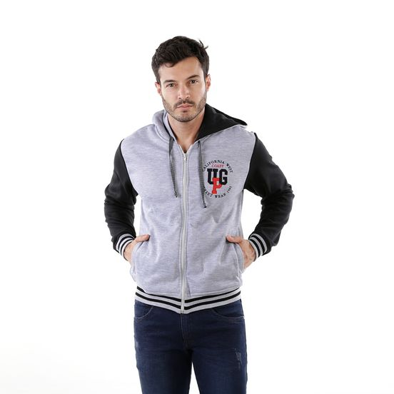 CHAQUETA-UNPLUGGEED-HOMBRE-20130-GRIS-JASPE